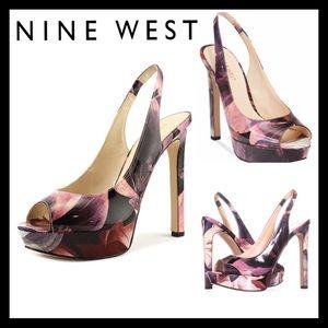 Nine West Valorie Platform Pumps Dress Shoes
